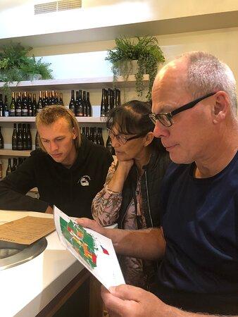 Three Generations Enjoy Wine Tasting