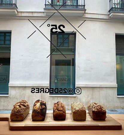 Panes! Pan de Arroz y Sarraceno Pan de campo con amapola Pan de campo con sesamo Sechskornbrot  Pan de frutas (Higos/Avellanas/Albaricoque)