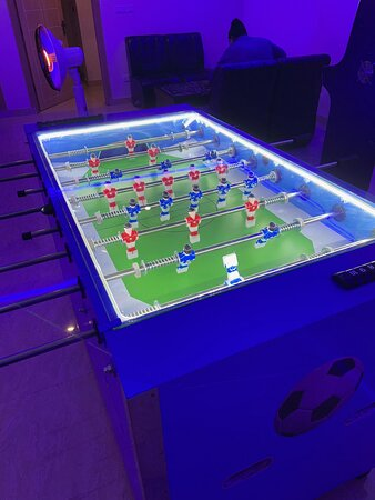 Lahore, Pakistan: Pool and football tables too. And a retro arcade with over 3000 games.