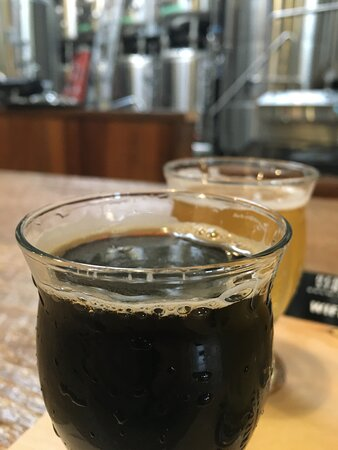 Eurotrip Porter. Excellent, smooth and rich porter that I love in the winter months.