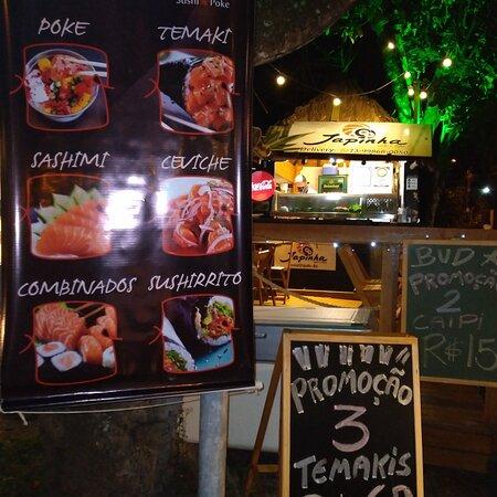 Além  de melhor preço é o melhor restaurante de comida japonesa de Arraial D'ajuda