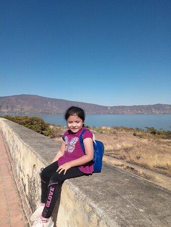Mezcala, Mexico: Ella disfrutando....