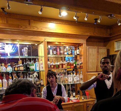 Teatro Martini's bar.