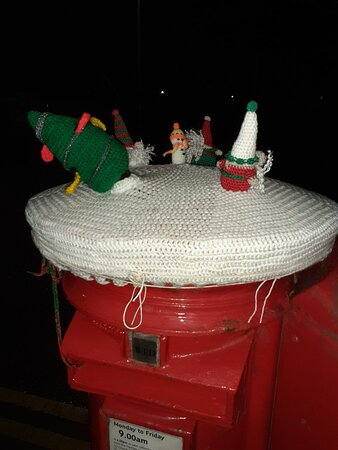 Festive postbox