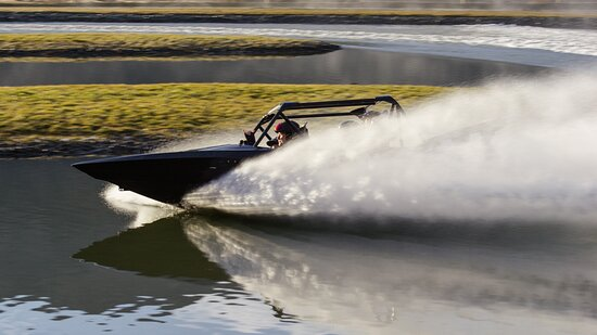 Jet Sprint Boat Action