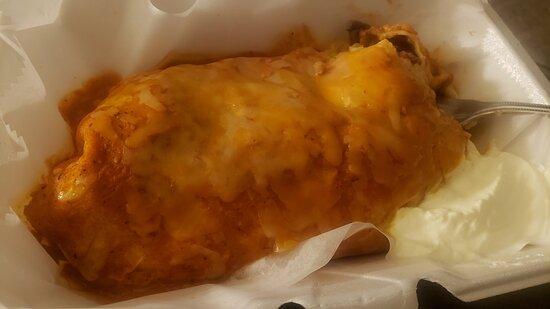 Hamilton Square, NJ: Smothered burrito