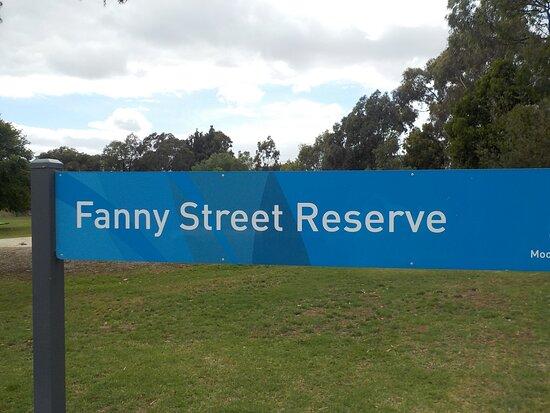 Fanny Street Reserve
