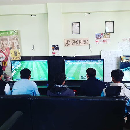 Mirage Gaming House Playstation 4 ps4 game zone, video game.  Location: Nakhipot chowk, infront of nakhipot basketball ground ps4