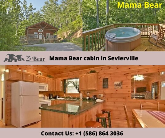 Best of Costa Rica with Car Rental 12D/11N Vacation Package: Mama Bear is a gorgeous 2 bedroom cabin with a loft room in the Great Smoky Mountains and it is filled with many luxuries of home away from home.