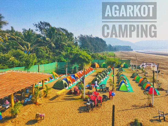 Camping is a great way to take a break from your busy schedule and disconnect from the modern world.  We are situated at Revdanda Beach, which is easily accessible by road, with Alibag just being a 16km drive away. We are surrounded with Beautiful beach & ancient Agarkot Fort which is just 15 minutes walking distance.  Spend the evening on the beach, the night beneath the stars and the morning with the orange Sun and Cool Sea Breeze.