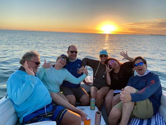 Sunset with some friends