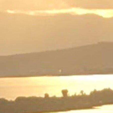 קליארי, איטליה: Cagliari tramonto del 30/12/2020 tra nuvole e schiarite