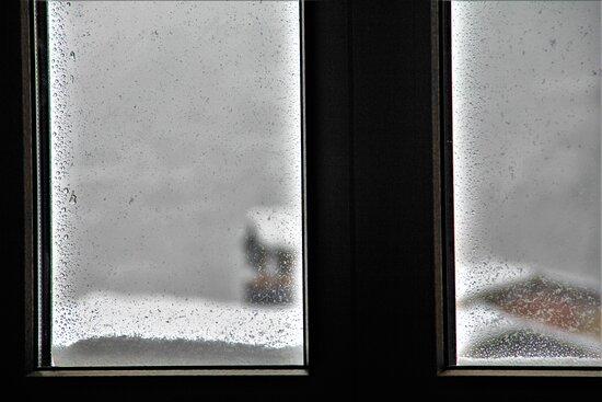 Mendrisiotto, Svájc: Mentre fuori...nevicava.