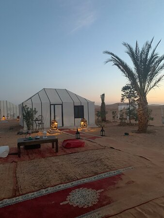 3 days desert tour From Marrakech to Fes: Camp