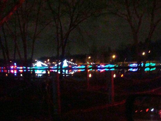 Coney Island Christmas lights.