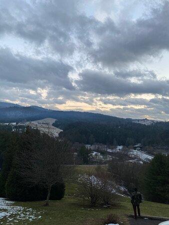 Laurel Springs, NC: Mountain view