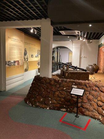 Main museum on the ground floor