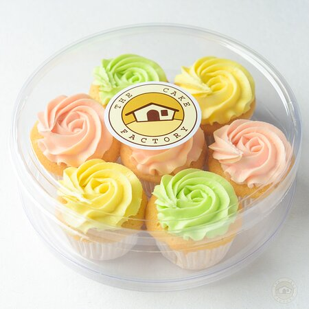 Our assorted mini cupcake packs are available for pick up at our cafe on 5th Lane