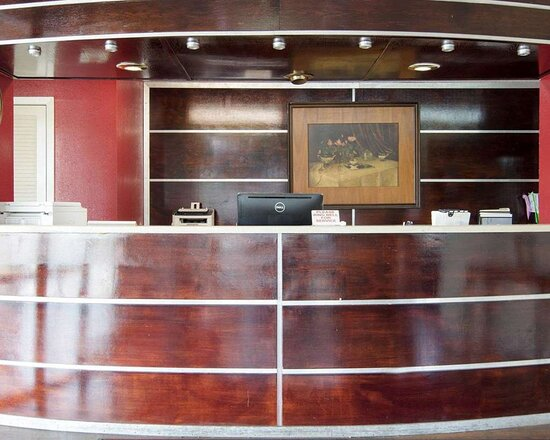 Front desk with friendly staff