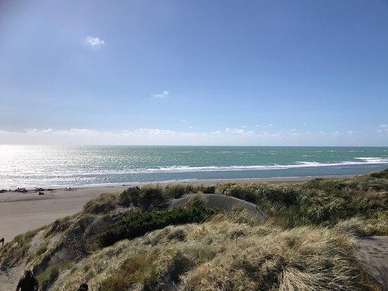 Kawhia, New Zealand: beach 2