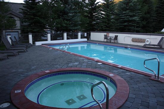 Outdoor Heated Saline Swimming Pool and Hot Tub