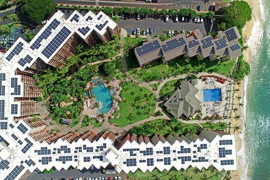 Aston Kaanapali Shores - Aerial of Property
