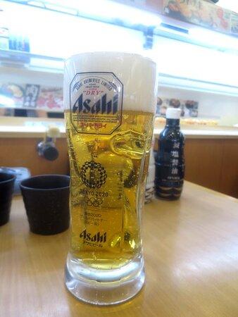 生ビール(大)\690-