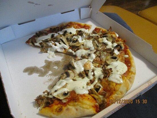 Buettelborn, ألمانيا: Pizza Döner