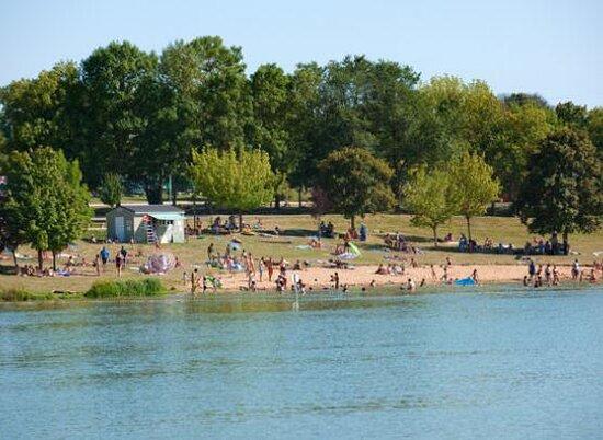 Lake of Chemillé-sur-Indrois