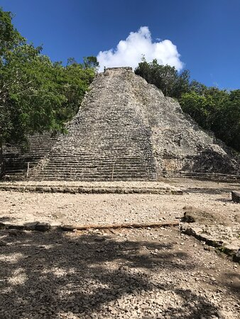 Coba was a fun trip and I recommend everyone to do this. It's not expensive to get it at all it was very cheap and bring water with you. You can even shop around but it's not very much because of the Hurricanes in 2020