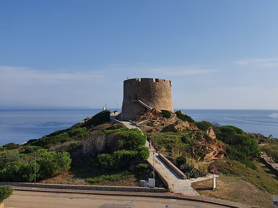 Longonsardo Tower: Entrance Ticket: The surroundings of the tower and the view.