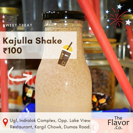 Bliss yourself this new year with Milk shake made with our homemade cashew chocolate spread. 😇