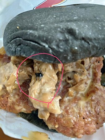 Check your patties before eat
