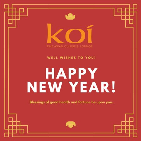 Happy New Year! We will be open tonight for takeout.