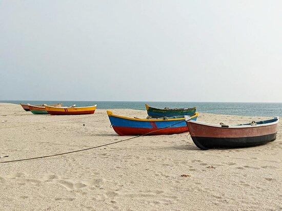 Rameswaram, India: Dhanushkodi Beach Point