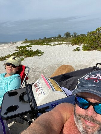 Beach Day - they provide wagons to get all your stuff to the beach
