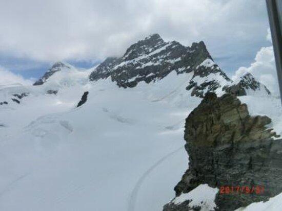 Jungfraujoch-Top of Europe train ticket: ユングフラウ4158m