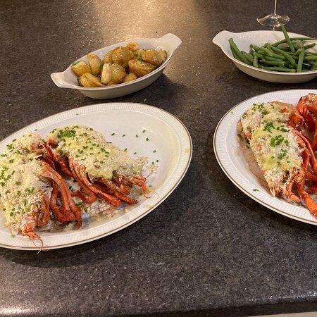 Lobster Thermidor Recipe Box