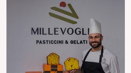 """La pasticceria """"Millevoglie - Pasticcini & Gelati"""" esprime semplicemente la tradizione della pasticceria italiana grazie a ingredienti naturali e unici."""