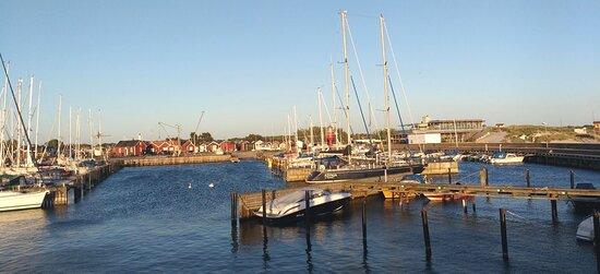 Skanor, Svédország: Il porto