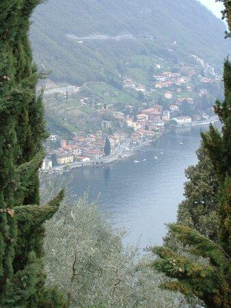 Vista dal castello di Vezio