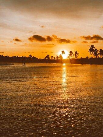 Pôr-do-sol na praia do francês - Kanoa Beach Club