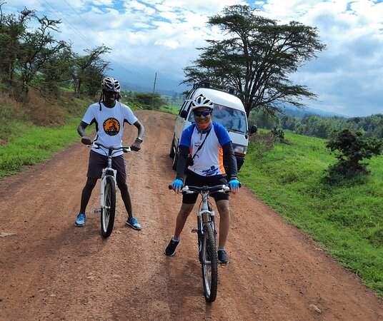 West Kilimanjaro cycling Adventures: The Beginning