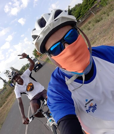 West Kilimanjaro cycling Adventures: All ends with a Tarmac challenge..