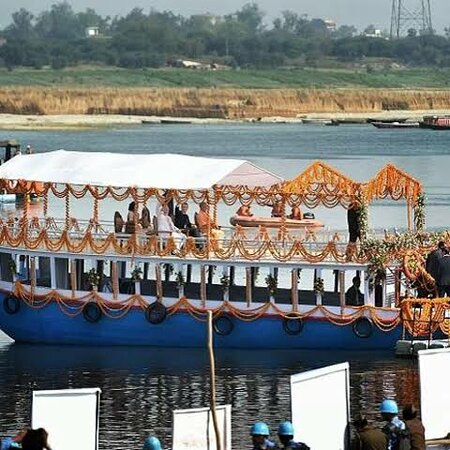 House boat known as #bajra in varanasi tour..pure traditional