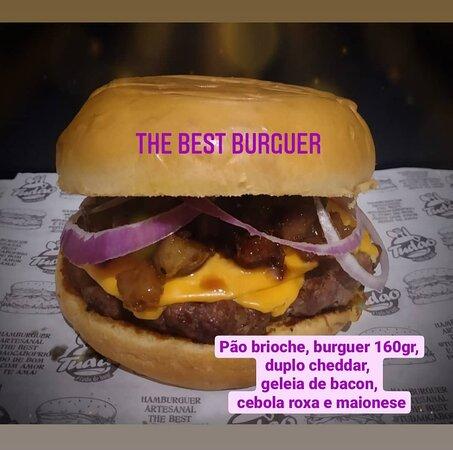 Hambúrguer Artesanal -  The Best Burguer