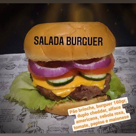 Hambúrguer Artesanal -  Salada Burguer
