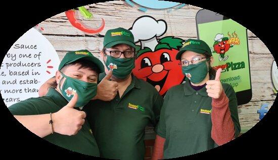 Welcome to Snappy Tomato Pizza Northampton