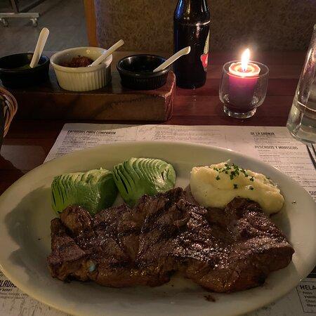 Excellent steak! Throughly