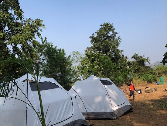 """Vasind, India: Come stay at """"Camp- A man and his dogo"""". We are run a campground near mumbai and we are operating on weekends and weekdays too. Stay in tents , taste authentic Indian food, explore the rurally part of Maharashtra, meet locals and tribal people here. There are small trek and trails for walks, lake to sit and meditate, relax under big forest trees. Feel like home when you visit us. Perfect place for people who love to practice Yoga, meditation in nature. Get yourself connected with nature ."""